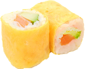 ER1 - Egg Roll Saumon Cheese